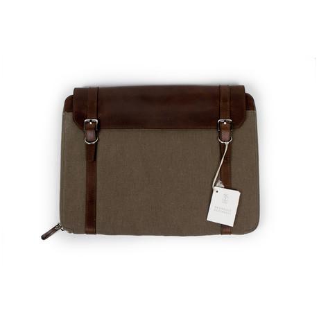Bryant Leather + Canvas Business Portfolio Bag