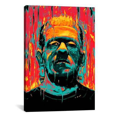 """Frankenstein (26""""H x 18""""W x 0.75""""D)"""
