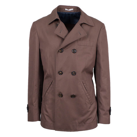 Peacoat Jacket // Brown (Euro: 48)