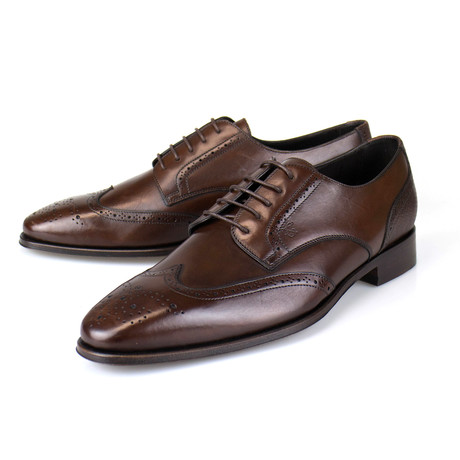 Wingtip Derby // Brown (Euro: 40)