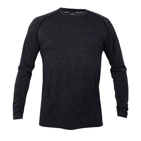 Hyper4 Crew Knit // Heather Black (S)