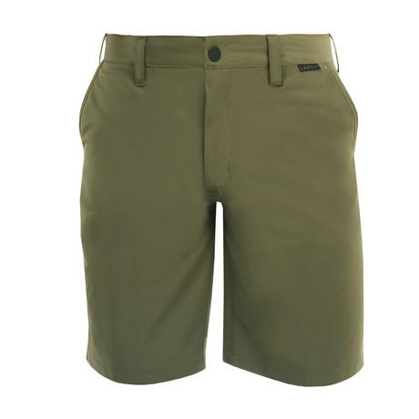 Venturo Woven Short // Olive (28)