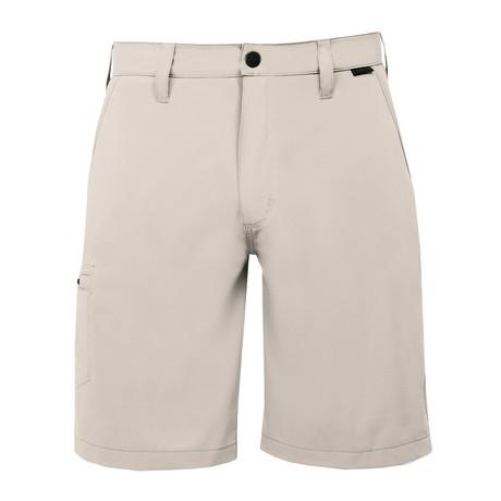 Venturo Woven Short // Stone + Khaki (28)