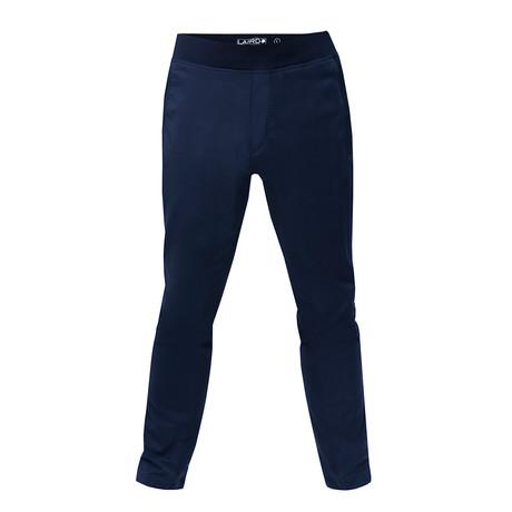 Agile Knit Pant // Navy (S)
