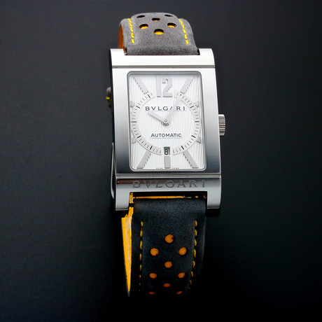 Bvlgari Rettangolo Date Automatic // RT4S // Pre-Owned