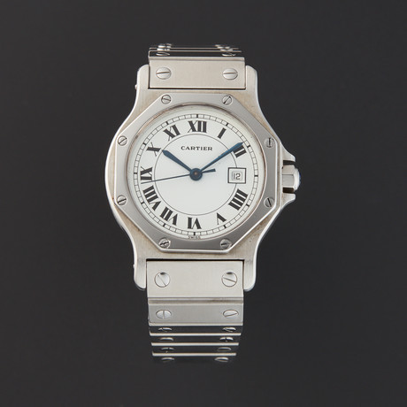 Cartier Santos Octagon Automatic // 764-TM11010 // Pre-Owned