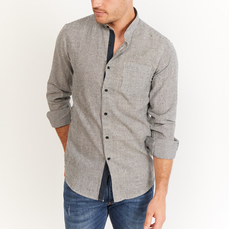 Williams Button-Up // Gray (S)