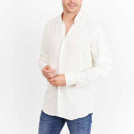 Arden Button-Up // White (S)