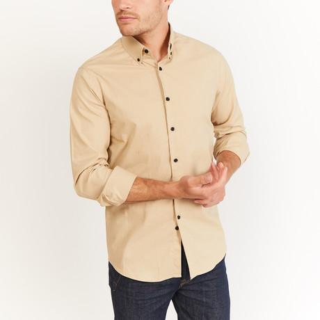Hudkins Button-Up // Cream White (S)