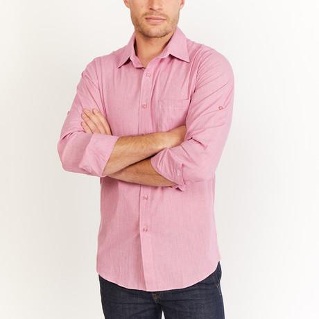 Kent Button-Up // Pink (S)