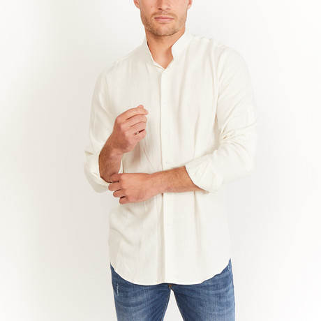 Wendell Button-Up // White (S)