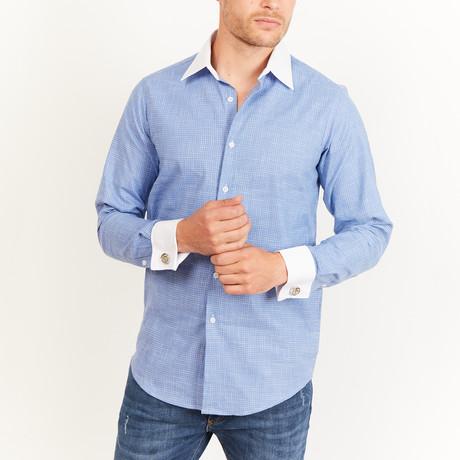 Laverne Button-Up // Blue (S)