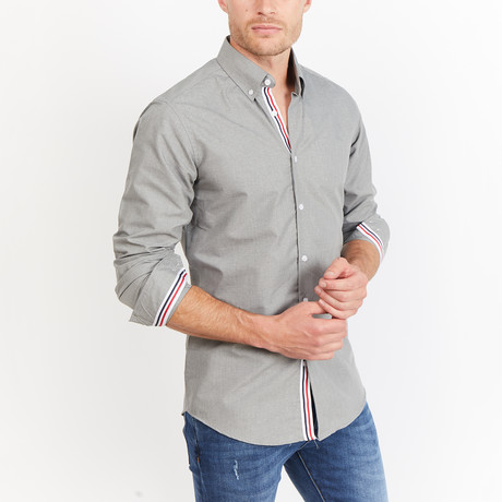 Chamberland Button-Up // Dove Gray (S)