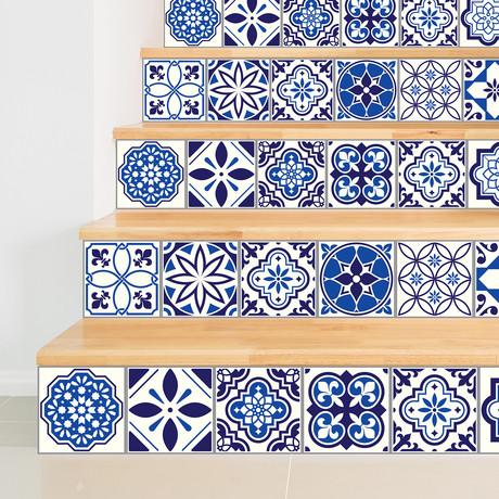 Spanish + Moroccan // 15cm x 15cm