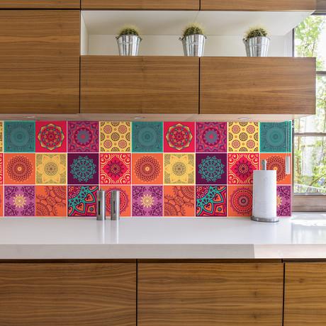 Colorful Mandala // Wall Sticker