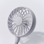 Portable Neck Fan (White)