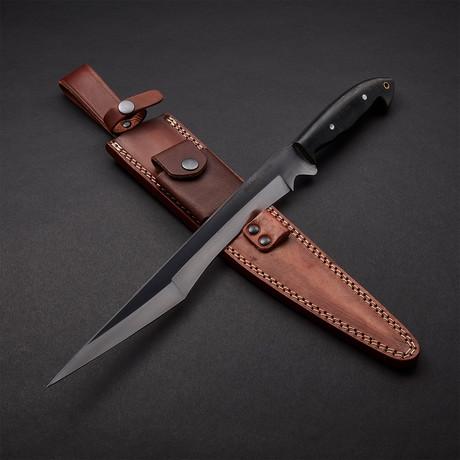 "Harpoon Tanto Blade Sword // 17"""