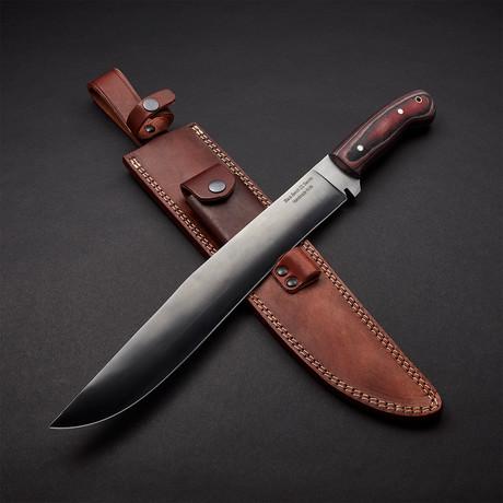 "Bushmaster Machete Blade Sword // 18"""