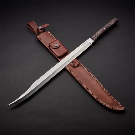 "Modern Scimitar Blade Sword // 24"""