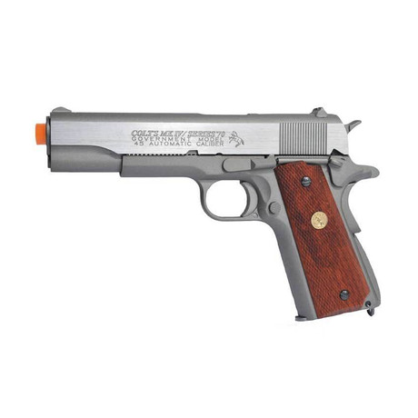 Colt 1911 MKIV Series 70 CO2 Full Metal Blowback Stainless