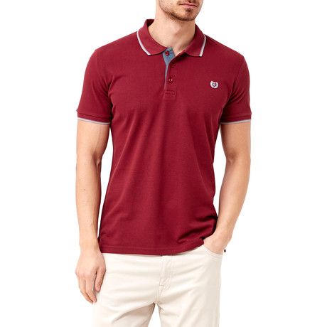 Collar Shirt // Cherry