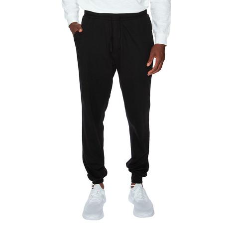 Super Lightweight Cuffed Lounge Pant // Black (S)