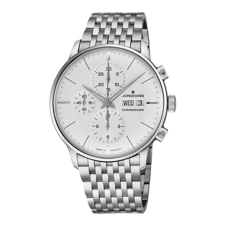 Junghans Chronograph Automatic // 027/4121.45 // New