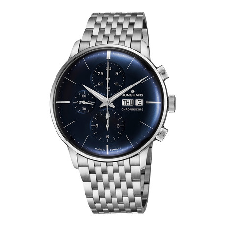 Junghans Chronograph Automatic // 027/4528.45 // New