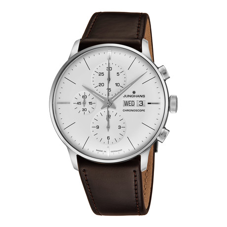 Junghans Chronograph Automatic // 027/4120.01 // New