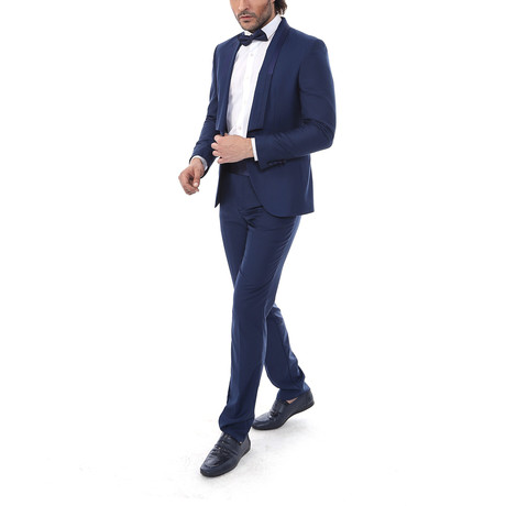 Henry 2-Piece Slim Fit Suit // Navy (Euro: 44)