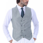 Kenley 3-Piece Slim Fit Suit // Green (Euro: 56)