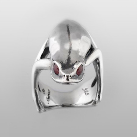 Devious Tree Frog // Sterling Silver (Size 8)