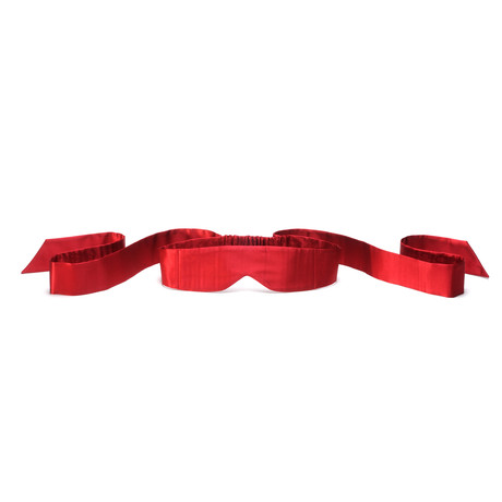 INTIMA Silk Blindfold // Red