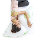 Sleep Yoga // Ultimate Side Support Pillow 2 Piece Combo