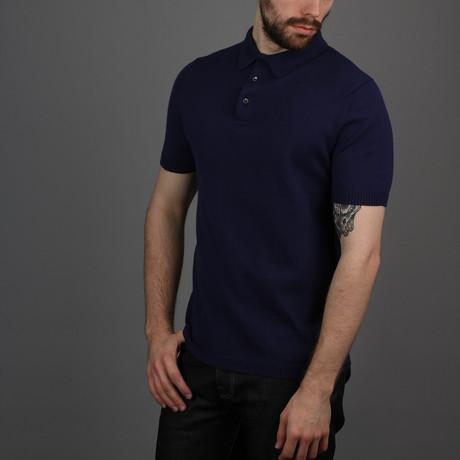 Cruise Polo Shirt // Navy (S)