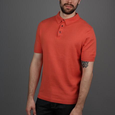 Cruise Polo Shirt // Mandarin (S)