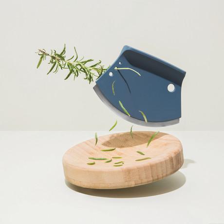 Leo // Bamboo Herb Cutter // 2-Piece Set