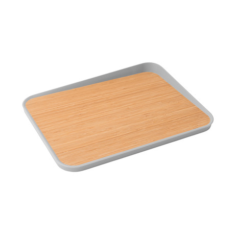 "Leo Anti-Slip Bamboo Cutting Board // 16.25"""