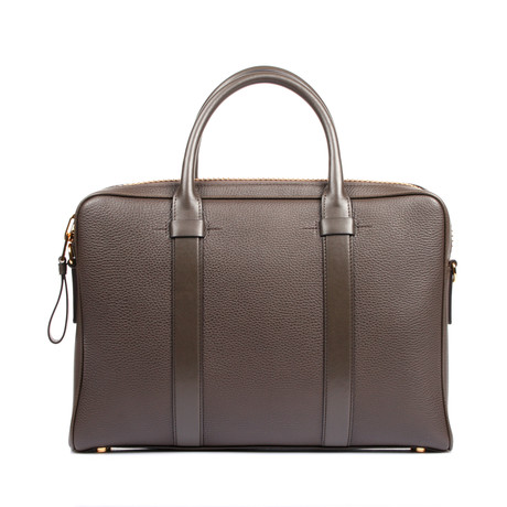 Briefcase // Brown