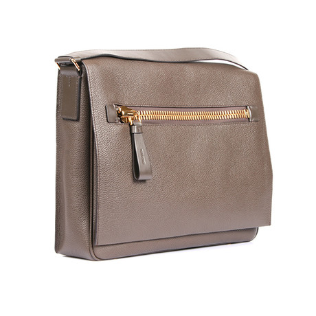 Messenger Bag // Taupe