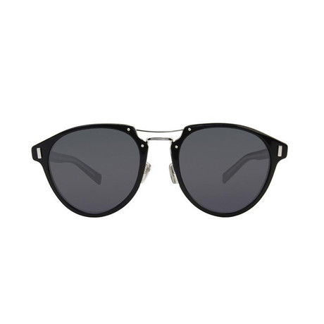 Dior // Men's BLACKTIE2.0SL Sunglasses // Matte Black + Gray Blue