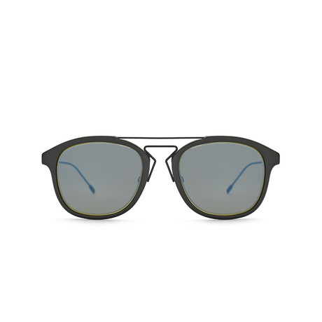 Dior // Men's BLACKTIE227S Sunglasses // Matte Black + Gray
