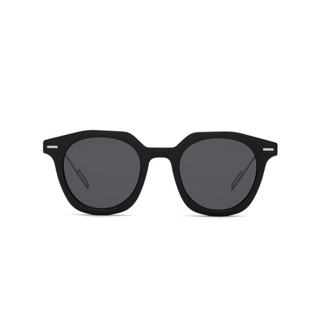 Dior // Men's DIORMASTER Sunglasses // Black + Silver + Gray
