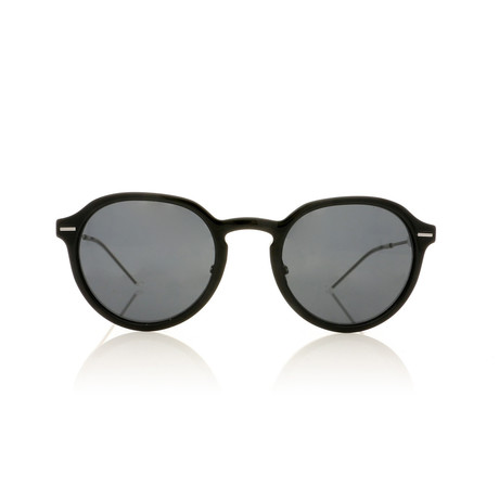 Dior // Men's DIORMOTION2 Sunglasses // Black + Silver + Gray