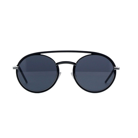 Dior // Men's DIORSYNTHESIS01 Sunglasses // Black Gunmetal + Gray