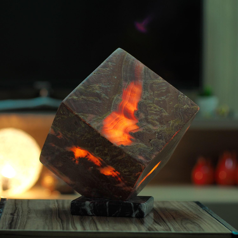 Volcanic Lamp Ashlar Lighting Touch Of Modern