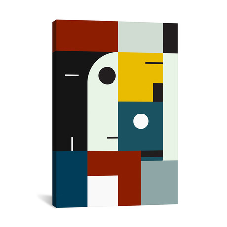 """Bauhaus Age // The Usual Designers (26""""W x 18""""H x 0.75""""D)"""