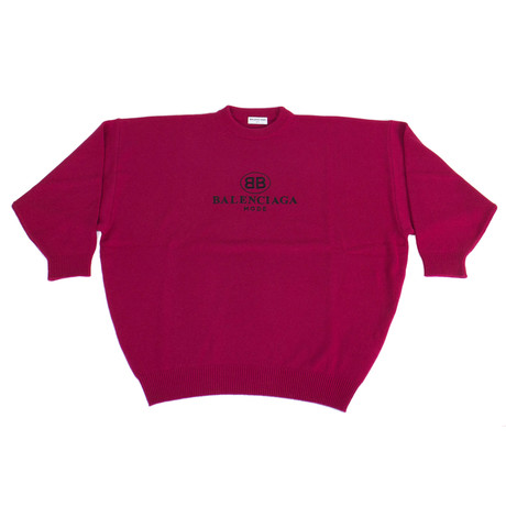 Women's BB Mode Embroidery Sweater // Pink (0)