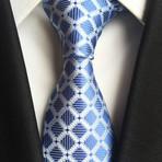 Jett Tie // Blue Windowpane