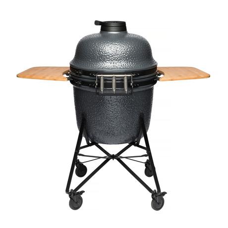 "Ceramic BBQ // 21"" (Bluestone Gray)"